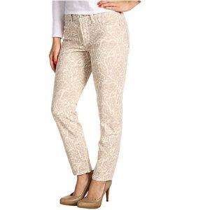 LIKE NEW NYDJ Alisha Slim Ankle Primrose Pants